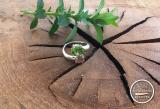 Peridot-Turmalin-Ring